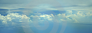 Cloud Filled Sky Royalty Free Stock Photo - Image: 5302275