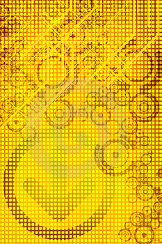 Yellow Design Royalty Free Stock Images - Image: 5308989