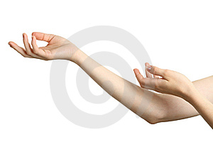 Hands Free Stock Photo