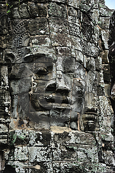Cambodia Angkor Bayon Temple Stock Photography - Image: 5315452
