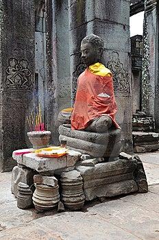 Cambodia Angkor Bayon Temple Stock Photography - Image: 5316392