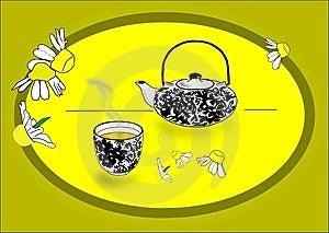 Herb Tea Stock Image - Image: 5317121