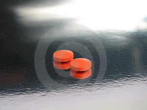 Orange Medicines Royalty Free Stock Images - Image: 5317239