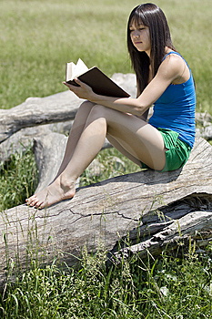 Teenager Read A Book Stock Photography - Image: 5321672