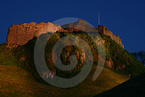 Castle At Night Stock Images - Image: 5322804