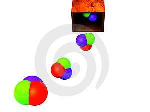 RGB In Cube Stock Photos - Image: 5324103