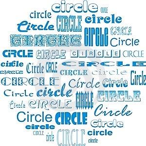 Circle Of Circles Royalty Free Stock Photos - Image: 5324858