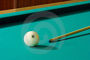 Ball And Cue Stock Images - Image: 5331064