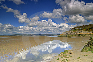 Low Tide At Silverdale Stock Image - Image: 5335061