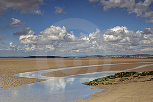 Low Tide At Silverdale Royalty Free Stock Photography - Image: 5335077