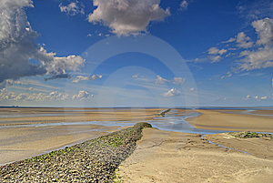 Low Tide At Silverdale Royalty Free Stock Photos - Image: 5335098