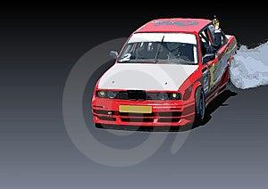 Carro Da Tração Na Ação Fotografia de Stock Royalty Free - Imagem: 5335177