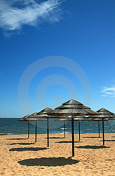 Beach Shade 2 Stock Images - Image: 5336134