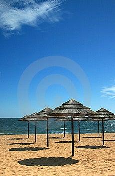 Strandschaduw 2 Stock Afbeeldingen - Afbeelding: 5336134