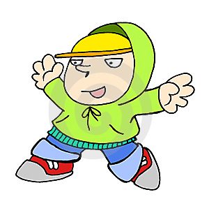 Hip Hop Kid 03 Stock Images - Image: 5338294