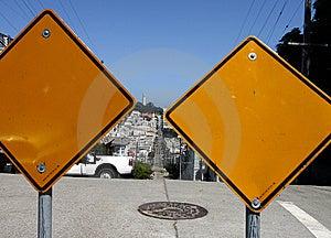 Warning Signs Royalty Free Stock Photos - Image: 5340248