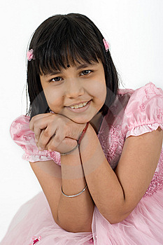 Asian Sikh Girl Stock Image - Image: 5341131