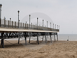 Victorian Pier Royalty Free Stock Photo - Image: 5343775