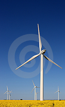 Wind Turbines Royalty Free Stock Photography - Image: 5345007