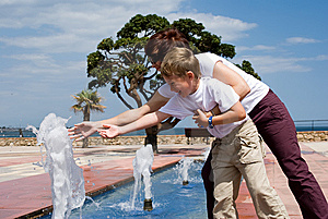 Fountain Royalty Free Stock Image - Image: 5345256