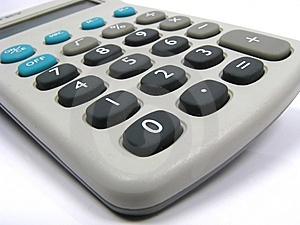 Calculator Closeup Royalty Free Stock Photography - Image: 5346227