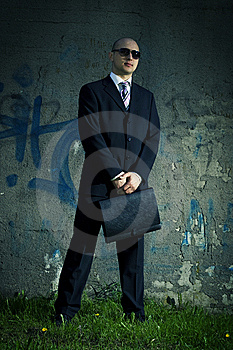Men In Suit. Royalty Free Stock Images - Image: 5352729