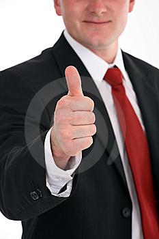 Portrait of a businessman Royalty Free Stock Photo
