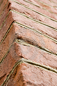 Aged Red Brick Wall Royalty Free Stock Images - Image: 5358749