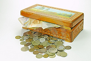 A Wooden Treasure Chest Stock Photos - Image: 5359443