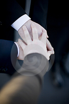 Business hands Stock Photos