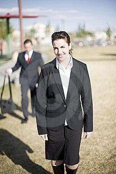 Businesspeople Walking Royalty Free Stock Photo - Image: 5360165