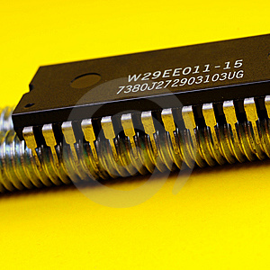 Microprocessor Royalty Free Stock Photo - Image: 5360265