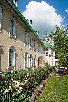 Piously-Pokrovsk Female Monastery Stock Photos - Image: 5360313