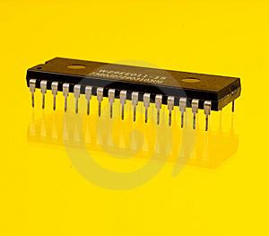 Microprocessor Stock Photo - Image: 5360680