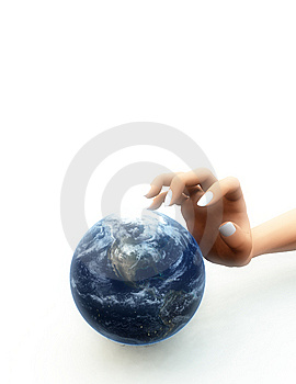I Want The World 2 Stock Images - Image: 5364854