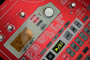 Groove Sampler Station Royalty Free Stock Photos - Image: 5365038