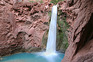 Mooney Falls Royalty Free Stock Image - Image: 5367406