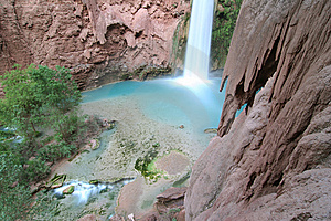 Mooney Falls Stock Image - Image: 5367411