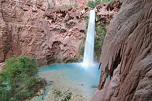 Mooney Falls Royalty Free Stock Images - Image: 5367419