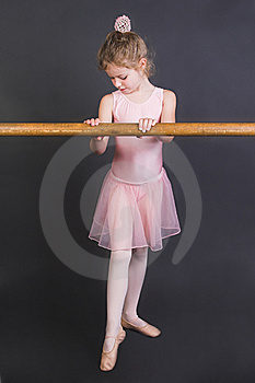 Tiny Ballerina Stock Photography