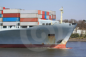 Container Shipping I Royalty Free Stock Photos