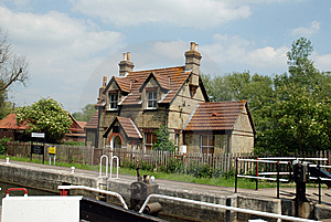 Lock Keepers Cottage Stock Images - Image: 5376214