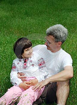 Father And Daughter Stock Photography - Image: 5378052