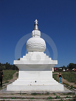 In The Buddhistic Monastery. Stock Image - Image: 5378201
