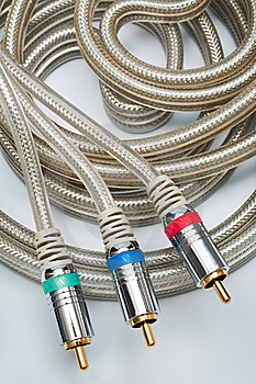 Component Video Cable Stock Photos - Image: 5383143