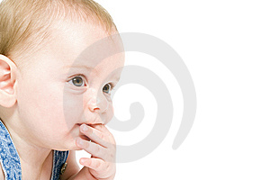 Six Month Old Baby Overall Stock Image - Image: 5385451