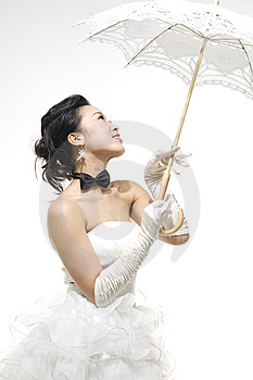 Chinese bride Stock Photo