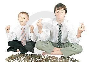Meditation. Stock Photography - Image: 5391342
