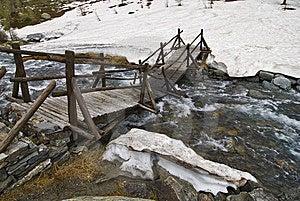 Ponte Quebrada Fotografia de Stock Royalty Free - Imagem: 5396047