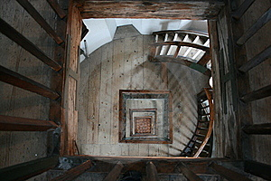 Old Tower Stairs Stock Photo - Image: 5396600